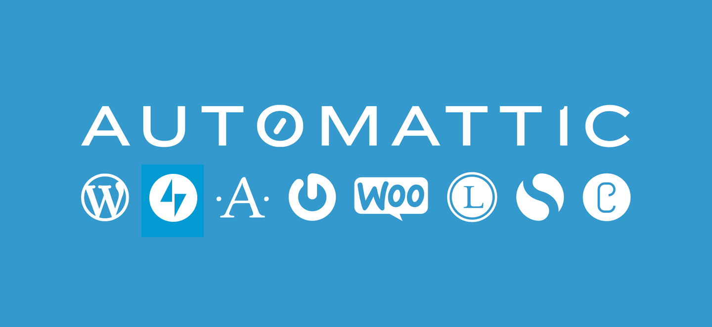 Logos of Automattic's brands